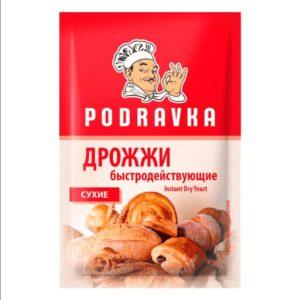 Фото 14 - ДРОЖЖИ ПОДРАВКА СУХИЕ 11ГР.