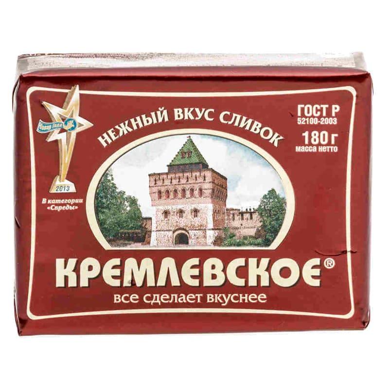 Фото 5 - СПРЕД КРЕМЛЕВСКОЕ РАСТИТЕЛЬНО-ЖИРОВОЙ 180ГР.