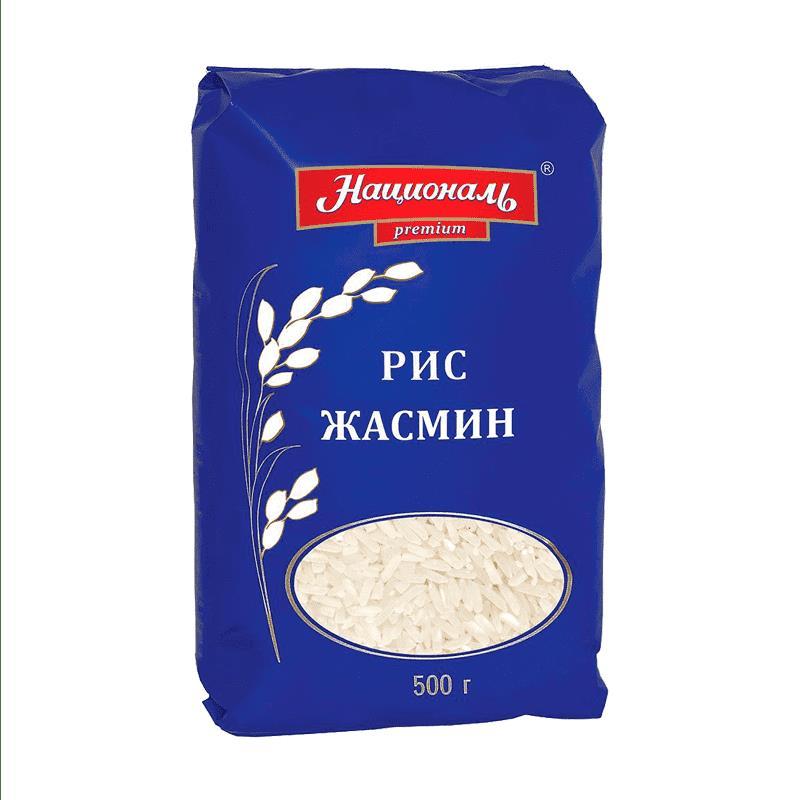 Фото 23 - КРУПА РИСОВАЯ НАЦИОНАЛЬ ЖАСМИН 500 ГР.