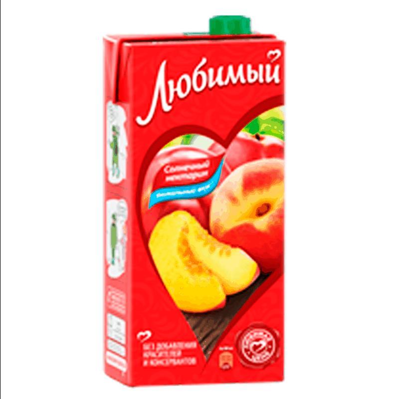 Фото 35 - СОК ЛЮБИМЫЙ ЯБЛОКО, ПЕРСИК И НЕКТАРИН 0.95Л.