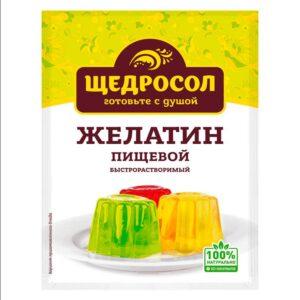Фото 18 - ЖЕЛАТИН ПИЩЕВОЙ ЩЕДРОСОЛ 10 ГР.