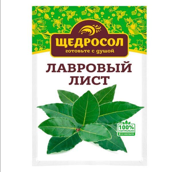 Фото 1 - ЛАВРОВЫЙ ЛИСТ ЩЕДРОСОЛ 10ГР.