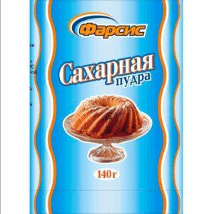 Фото 2 - ПУДРА САХАРНАЯ ФАРСИС 140 ГР.