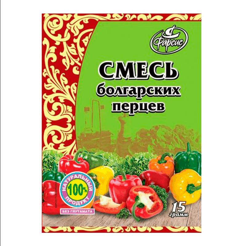 Фото 5 - СМЕСЬ БОЛГАРСКИХ ПЕРЦЕВ ФАРСИС 15ГР.