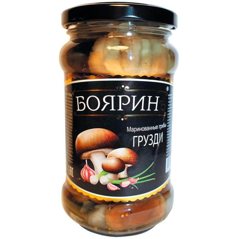 Фото 7 - ГРУЗДИ БОЯРИНЪ МАРИНОВАННЫЕ 280ГР.