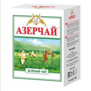 Фото 51 - ЧАЙ АЗЕРЧАЙ ЗЕЛЁНЫЙ 100 ГР.