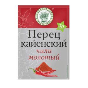 Фото 9 - ПЕРЕЦ КАЙЕНСКИЙ ЧИЛИ МОЛОТЫЙ 30ГР.