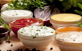 Кетчупы, майонезы и соусы